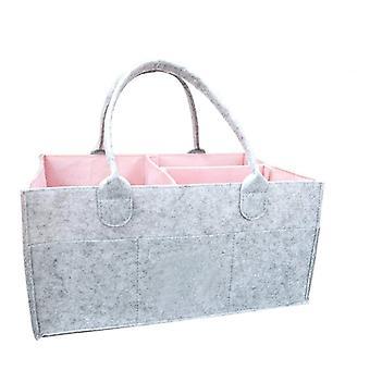 حقيبة تخزين حفاضات الأطفال- حقيبة تخزين دائمة و apos؛s حقيبة تخزين المنتجات، بيبي المنظم