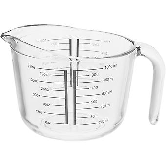 Excellents articles ménagers en verre mesure jug 1L 170424360