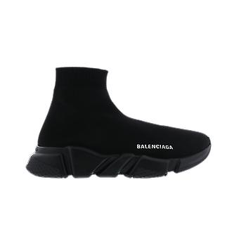 Balenciaga Fabric Sneaker Rubber Sole Black 587286W17191013 shoe