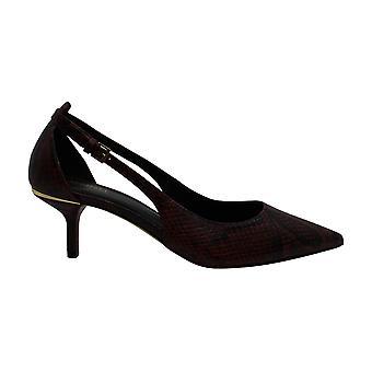 مايكل مايكل كورس المرأة & ق أحذية لورين الجلود وأشار إلى عارضة إلى عارضة Slingbac...