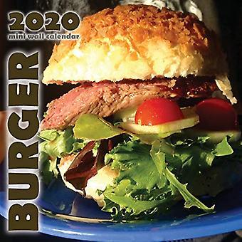 Burger 2020 Mini Wall Calendar