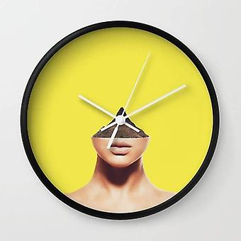 Displacement Wall Clock