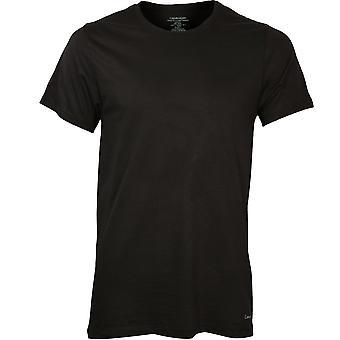 Calvin Klein 3-Pack Pure Cotton Crew-Neck T-Shirts, Black