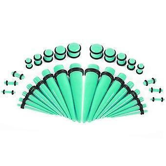 Ørestrækssæt med glødespidser og stik 36 stykker - 14ga- 00ga bj33964