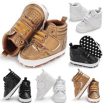 Antideslizantes moda bebé suave botas cálidas