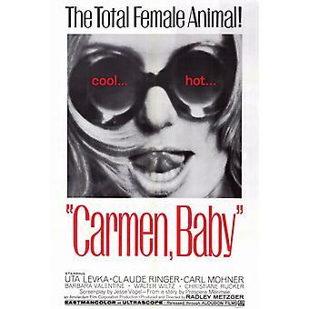 Carmen Baby Film Poster drucken (27 x 40)