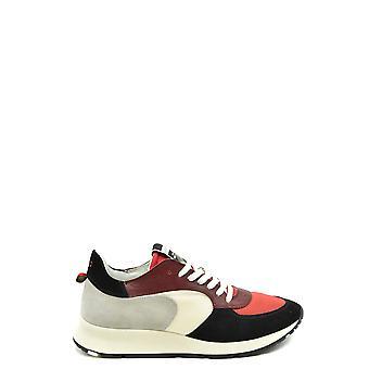 Philippe Model Ezbc019063 Men's Multicolor Suede Sneakers