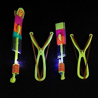 Led Double Flashing Large Luminous Slingshot