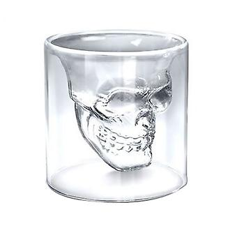 Skull Spirit Crystal Alcohol Glass 74ml balení po 4