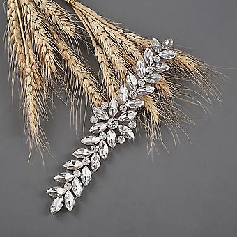 Dress Strap Woman Outfit Belt Rhinestone For Dresses Jewel Diamond