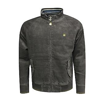 Fila Vintage Herren Corduroy Gold Edition Jacke grau U91268 042 X41B