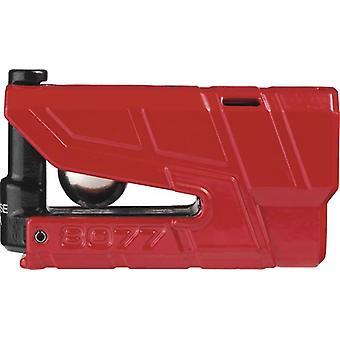 Abus Granit Detecto 8077 Red Motorbike Motorcycle Brake Disc Lock 13mm Pin