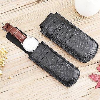 Genuine Leather Watch Bag