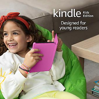 Kindle kids edition | includes access to over a thousand books, pink cover