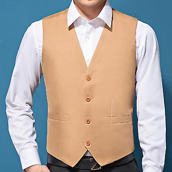 Wedding Suit Vests, Slim Fit Dress, Male Formal Tuxedo Waistcoat, Casual