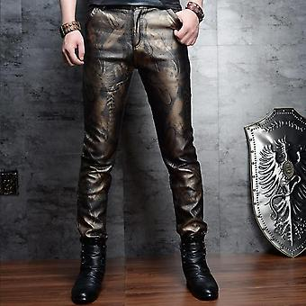 Slim Skinny Pu Leather Pants