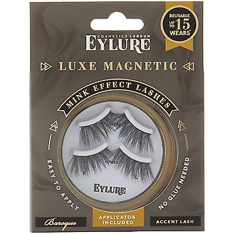 2 x Eylure Luxe Magnetic Mink Effect Lashes