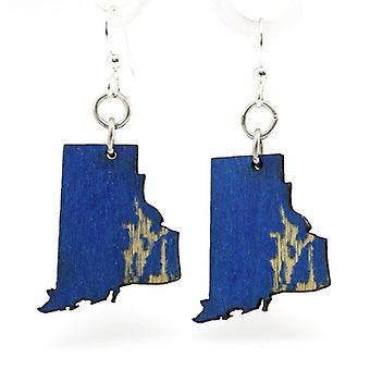 Rhode Island State Earrings