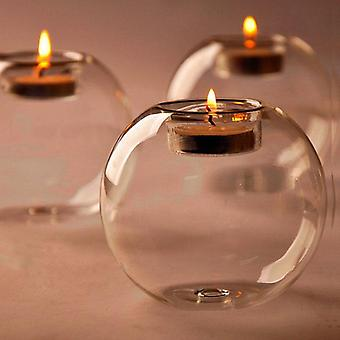 Classic Crystal Glass Candle Holder Table Candlestick