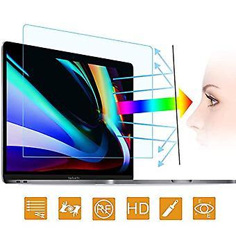 2PC anti sininen valo kannettavan tietokoneen näytönsuoja yhteensopiva MacBook Pro 16 Inch 2019 Julkaistu Touch ID & Touch Bar (A2141) - Anti-Glare / Anti Scratch Matte Laptop NäytönsuojaSuoja
