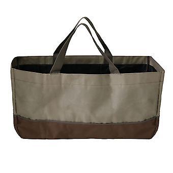 Portador de leña de leña gran bolsa de leña de alta capacidad durable