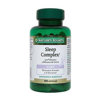 Sleep complex + valerian + lemon balm 100 capsules