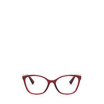 Gafas hembra rojas de ópalo Valentino VA3050