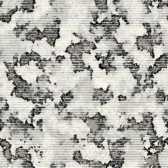 Tapete Impresso Multicolor do Mundo Branco em Poliéster, Algodão, L80xP150 cm
