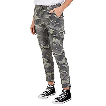 Magic Cargo Camouflage Trousers   Khaki