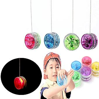 Led blinkende Kinder, Magic Spin Metall Lager mit Spinning String
