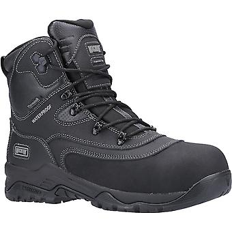 Magnum broadside 8.0 waterproof safety boots womens