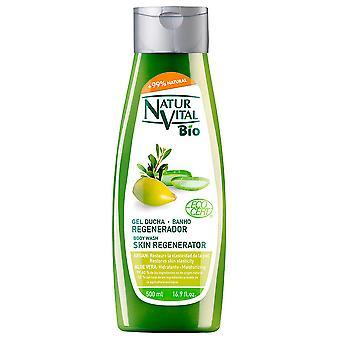Naturaleza y Vida Body Wash Skin Regenerator Argan oil and Aloe Vera 500 ml