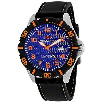Seapro Trooper Quartz Blue Dial Men's Watch SP1511