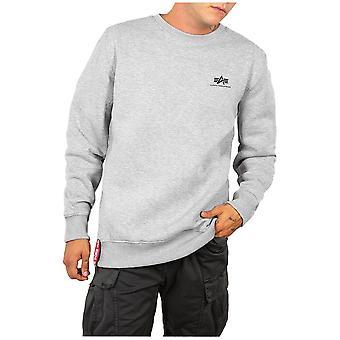Alpha Industries Basic Sweater Small Logo 18830717 universal  men sweatshirts
