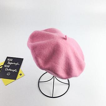 Wolle Baskenmütze Maler Cap gebacken Weizen Kuchen Cap / Baskenmütze warm weibliche Motorhaube Hüte