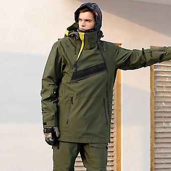 Men Snowboarding Hoodie Outdoor Sports Ski Snowboard Jacket