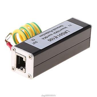 Rețea Rj45 Echipamente de monitorizare Aparat de fotografiat Protector protecție la supratensiune