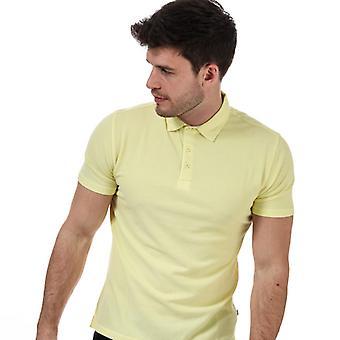 Men's Henri Lloyd Polo Shirt in Yellow
