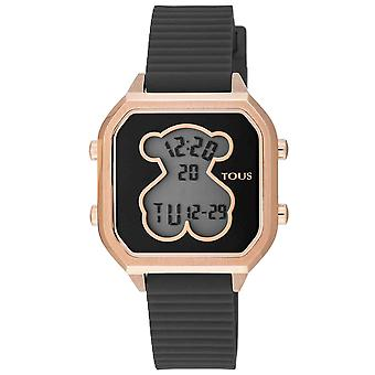 Tous watches d-bear teen watch for Digital Quartz Woman with Silicone Bracelet 100350400