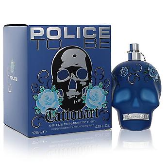 Police To Be Tattoo Art by Police Colognes Eau De Toilette Spray 4.2 oz