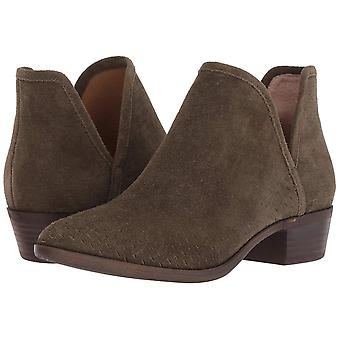 Lucky Brand Womens Baley Leather Closed Toe Ankle Fashion Boots