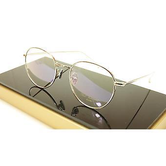 Paul Vosheront PV369 C2 Gold Plated Eyeglasses Frame Italy 49-21-145