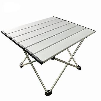 Alumiininen taittuva retkeilypöytä kantolaukulla