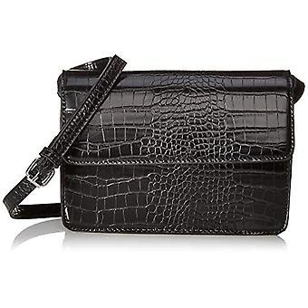 PIECES Pcjulie Cross Body Noos, Women's Folder Bag, Black, 2x14x22 centimeters (B x H x T)