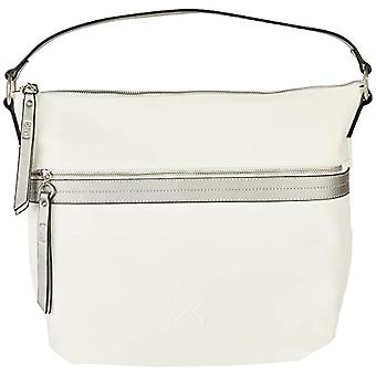 Munich HOBO PACKPACK RIFLECTS WHITE, women's accessories, large