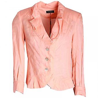 Apanage Women's Long Sleeve Frill Detail Jacket