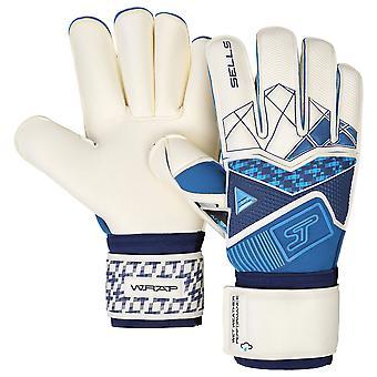 SELLS Wrap Aqua Cyclone Junior Goalkeeper Gloves