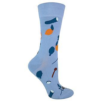 Dames nieuwigheid vegan patroon katoenen sokken