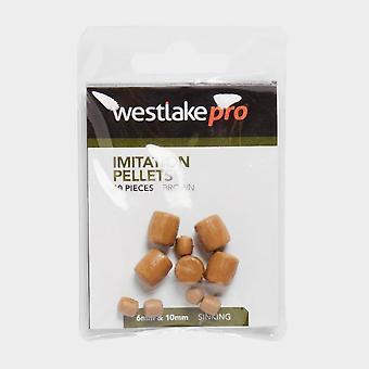 New Westlake Sinking Imitation Pellets (10 pack) Brown
