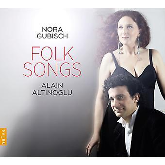 Falla / Berio / Granados / Obradors / Brahms - Folk Songs [CD] USA import